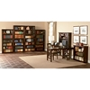 6-Tier Wooden Bookcase with Adjustable Shelves - ATL-H-8006