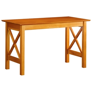 Lexington Wooden Work Table with X Side Panels