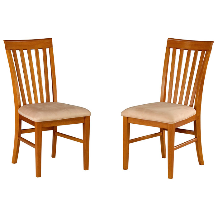 Shaker 5 Piece Dining Set W Mission Slat Back Chairs