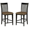 Shaker 7 Piece Pub Set w/ Rectangular Table and Slatted Chairs - ATL-SH60X36SPT7PC