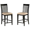 Deco 7 Piece Pub Set w/ Modern Rectangular Table - ATL-DE60X36PT7PC