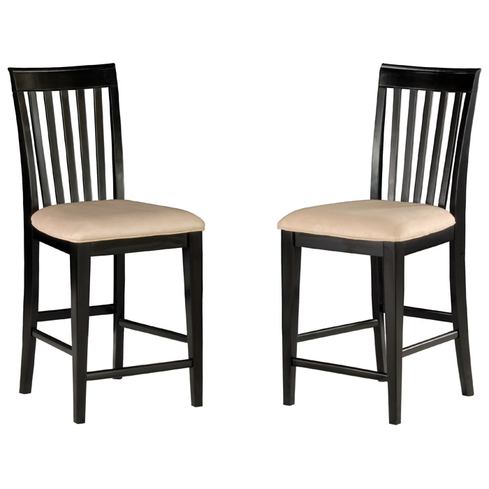 ... Deco 5 Piece Pub Set W/ 48 X 36 Table And Slat Back Chairs ...