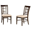 Montego Bay Lattice Back Dining Chair w/ Oatmeal Seat - ATL-AD77310