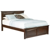 Monterey Platform Bed w/ Raised Panel Footboard - ATL-MPBRP