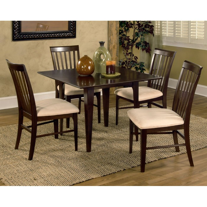 Montreal piece dining set w square table dcg stores