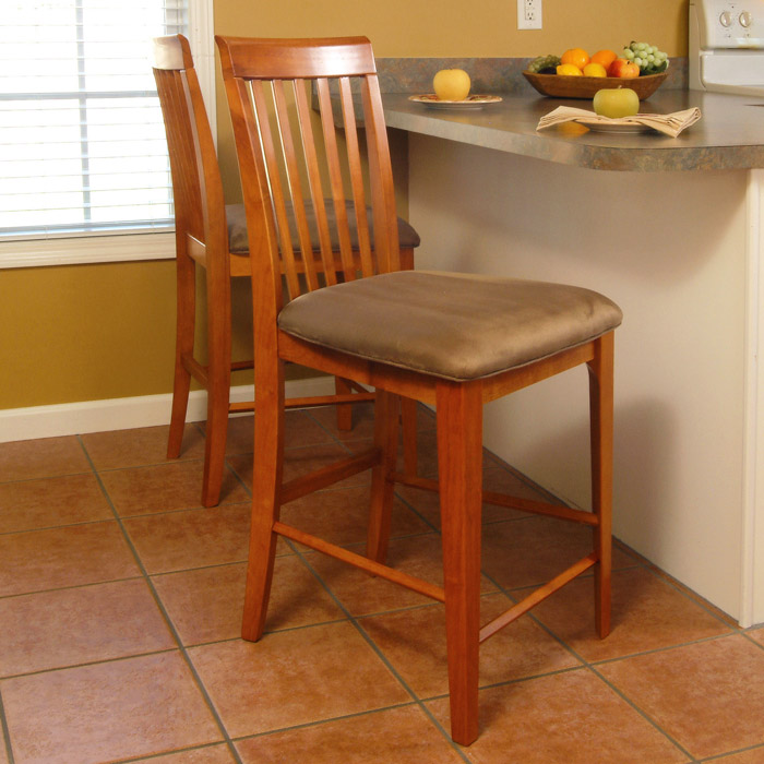 Montreal 25 5 Pub Chairs Slat Back Cappuccino Seat Dcg Stores