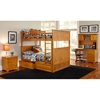 Nantucket Full Bunk Bed w/ Drawers - Raised Panel - ATL-AB5952