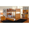 Nantucket Cottage Style Bunk Bed and Trundle - Full - ATL-AB5953