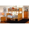 Nantucket Twin Over Full Bunk Bed w/ Beadboard Detail - ATL-AB5920