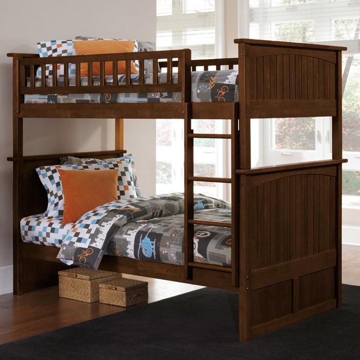 Bedroom Interior Design For Kids Bedroom Settee Bench Bedroom Room Colors Video Game Bedroom Decor: Nantucket Twin Bunk Bed W/ Beadboard Detail