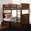 Nantucket Twin Size Bunk Bed w/ Drawers - Raised Panel - ATL-AB5912