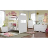 Nantucket Twin Bunk Bed w/ Beadboard Detail - ATL-AB5910