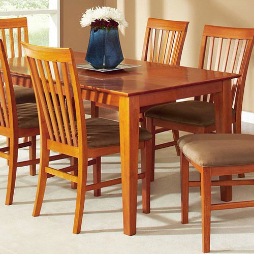 36 Inch Square Kitchen Table: Shaker 60 X 36 Solid Top Rectangular Dining Table