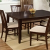 Shaker 60 X 42 Dining Table W Butterfly Leaf Extension