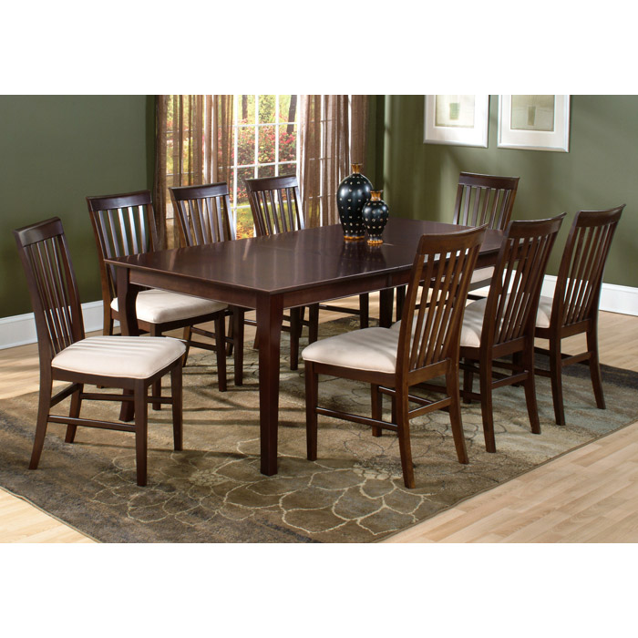 ... Shaker 78 X 42 Dining Table W/ Butterfly Leaf Extension    ATL SH78X42DTBL ...