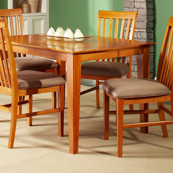 Superbe Shaker 54 X 54 Dining Table W/ Butterfly Leaf Extension   ATL SH54X54DTBL  ...