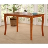 Venetian 48 x 36 Solid Top Pub Table w/ Curved Legs - ATL-VE48X36SPT