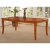 Venetian 78 x 42 Butterfly Extension Dining Table w/ Curved Legs - ATL-VE78X42DTBL