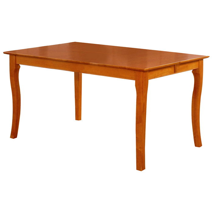 Venetian 54 x 54 Butterfly Extension Dining Table w/ Curved Legs - ATL-VE54X54DTBL