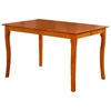 Venetian 54 x 54 Butterfly Extension Pub Table w/ Curved Legs - ATL-VE54X54PTBL