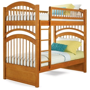Windsor Mission Style Twin Size Bunk Bed