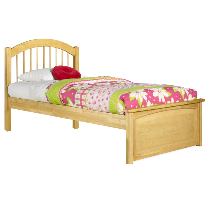 Windsor Twin Bed w/ Raised Panel Footboard - ATL-WTBRPF