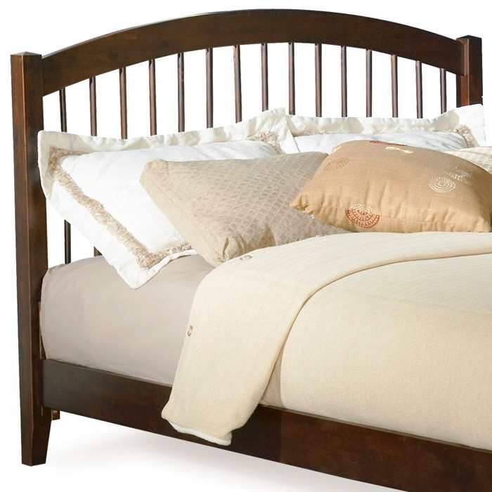 Windsor Arch Spindle Headboard in Antique Walnut - ATL-P-948X4