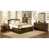 Windsor Platform Bed w/ Raised Panel Footboard and Storage Drawers - ATL-WPBRPFSD