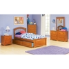 Windsor Twin Bed w/ Raised Panel Footboard and Trundle - ATL-WTBRPFT