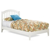 Windsor Twin Platform Bed w/ Open Footrail - ATL-WTWPBOF