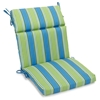 "3-Section 22"" x 45"" Patio Chair Cushion - Ties, Patterned Fabric - BLZ-922X45-REO"