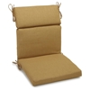 "3-Section 22"" x 45"" Patio Chair Cushion - Ties, Solid Color Fabric - BLZ-922X45-REO-S"