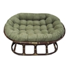 60'' x 48'' Microsuede Tufted Double Papasan Cushion - BLZ-93304-MS