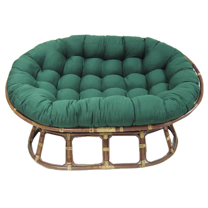 78 Quot X 58 Quot Oversized Double Papasan Cushion Tufted Twill