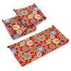 Patio Loveseat & Chair Cushion Set - All-Weather, Patterned - BLZ-93450-REO