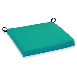 "21"" x 19"" Patio Chair Cushion - All-Weather, Solid Color Fabric"