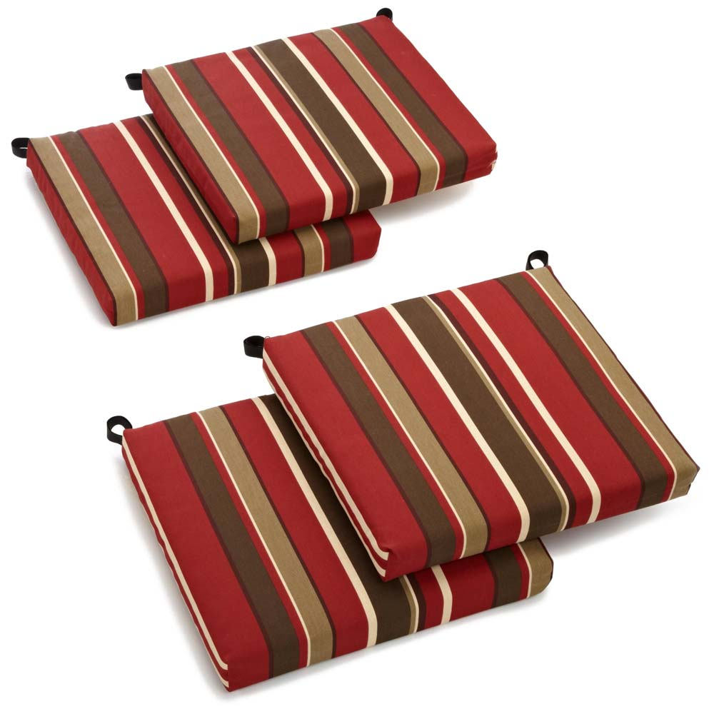 20 Quot X 20 Patio Chair Cushion All Weather Patterned Set