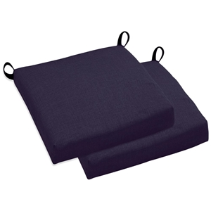 "20"" x 20 Patio Chair Cushion - All-Weather, Solid Color (Set of 4)"