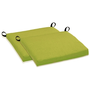 "20"" x 16"" Bar Chair Cushion - All Weather, Solid Color (Set of 2)"