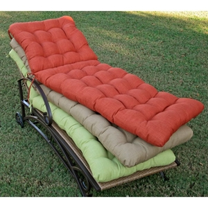 72 Standard Chaise Lounge Tufted All-Weather Cushion