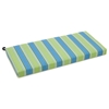 "40"" x 19"" Patio Bench / Swing Cushion - Patterned Fabric - BLZ-940X19-REO"