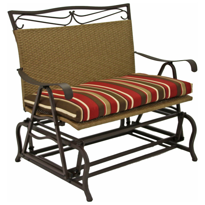 Valencia Double Glider Outdoor Cushion - BLZ-94102-DBL-REO