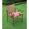Valencia 20'' x 20'' Patio Chair All-Weather Cushion (Set of 4) - BLZ-94105-S-4-REO