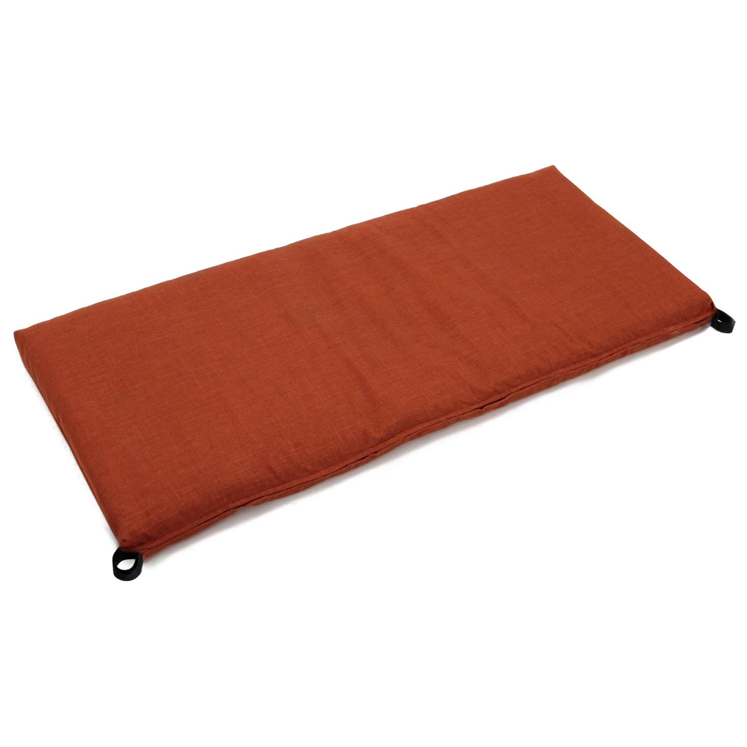 "42"" x 19"" Patio Bench / Swing Cushion - Solid Color Fabric - BLZ-942X19-REO-S"