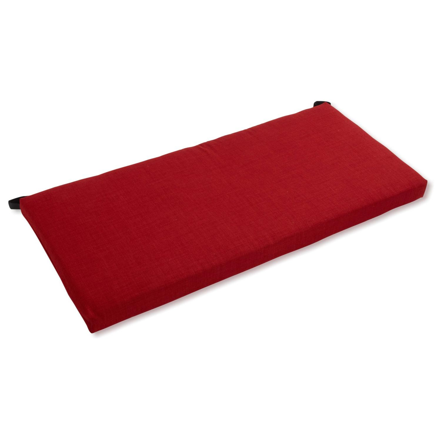"45"" x 19"" Outdoor Bench Cushion - Solid Color Fabric - BLZ-945X19-REO-S"