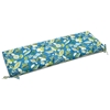 "54"" x 19"" Patio Bench / Swing Cushion - Ties, Patterned Fabric - BLZ-954X19-REO"