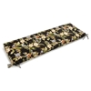 "60"" x 19"" Outdoor Bench Cushion - Ties, Patterned Fabric - BLZ-960X19-REO"