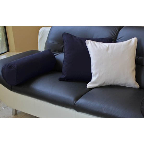 Solid Twill 18'' Pillows and Bolster Set - BLZ-9815-TW-CD-X
