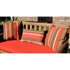 Mix Pattern Outdoor 3 Piece Decorative Throw Pillow Set - BLZ-9817-S2-REO-X
