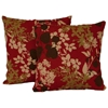 "Mix Pattern Outdoor 20"" Pillow (Set of 2) - BLZ-9910-2-REO-X-20"